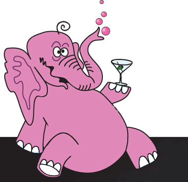 Elefanti Rosa e altri dintorni